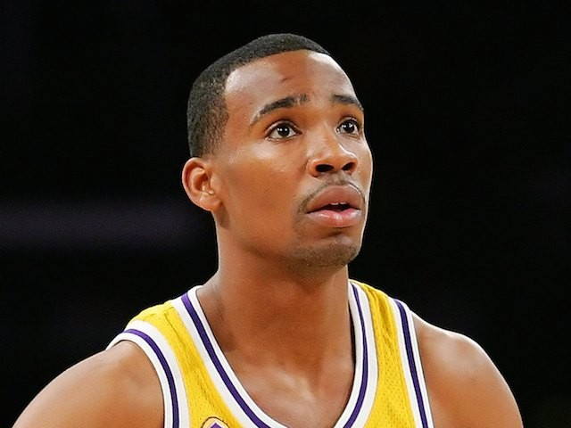 Javaris Crittenton in action for the Lakers in 2007