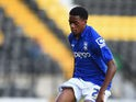 Birmingham City's Reece Brown keeps his eye on the ball during a pre-season friendly against Notts County on July 29, 2014