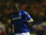 Birmingham City striker Clayton Donaldson dribbles with the ball during a Championship match against Millwall on February 10, 2015