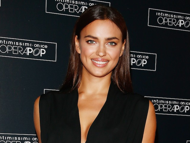 Irina Shayk attends Intimissimi on Ice - OperaPop at the Arena di Verona on September 20, 2014