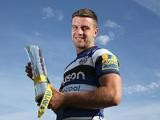 Bath's George Ford with his Aviva Premiership Rugby Player of the Season award, pictured on May 20, 2015
