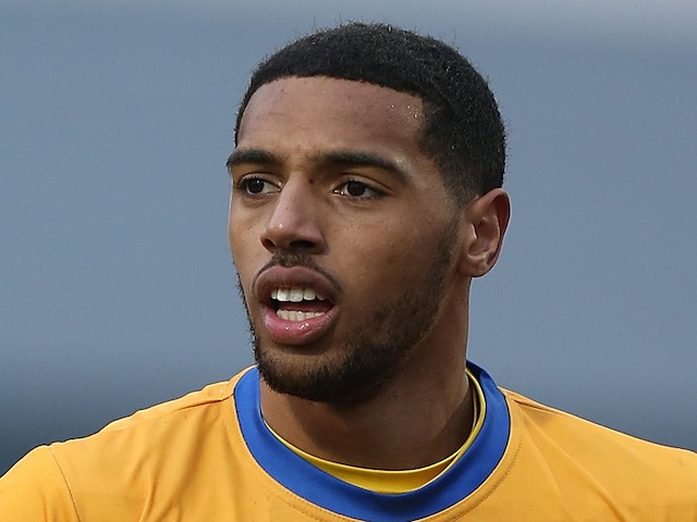 Vadaine Oliver of Mansfield Town in action during the Sky Bet League Two match between Mansfield Town and Northampton Town at One Call Stadium on February 14, 2015
