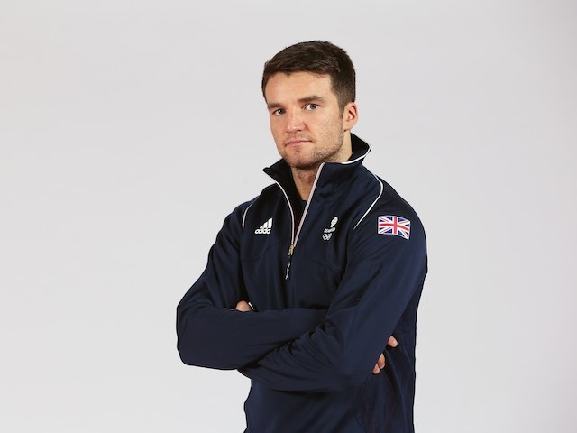 Anthony Fowler at the Team GB kitting out ahead of the European Games on May 28, 2015