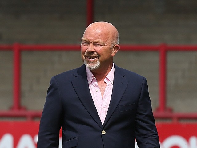 Brentford's sporting director Frank McParland prior to the Pre Season Friendly match between Brentford and Crystal Palace at Griffin Park on August 2, 2014