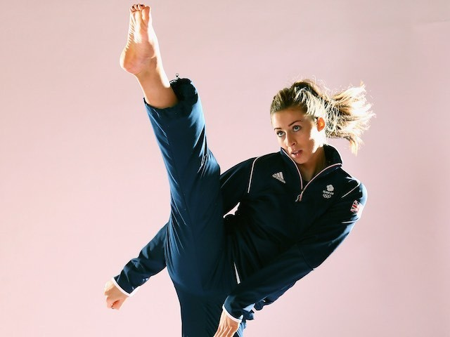 Team GB taekwondo athlete Bianca Walkden at kitting out for the European Games in May 2015