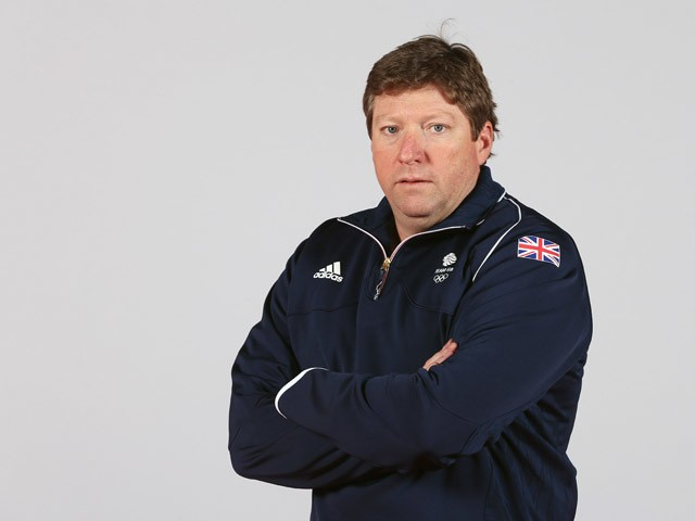 Brendan Purcell of Team GB during the Team GB kitting out ahead of Baku 2015 European Games at the NEC on June 1, 2015