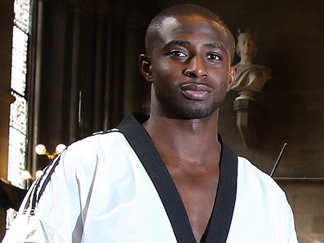Mahama Cho at the WTF World Taekwondo Grand Prix in October 2014