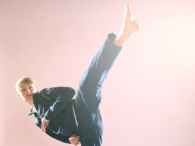 Team GB taekwondo athlete Max Cater at kitting out for the European Games in May 2015