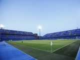 General view of inside Stadion Maksimir, home of GNK Dinamo Zagreb before the UEFA Champions League first leg play off between GNK Dinamo Zagreb and NK Maribor at the Stadion Maksimir on August 22, 2012