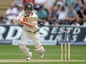 Australia's David Warner in action during day two of the First Test of The Ashes on July 9, 2015