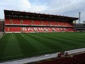 General views of Oakwell Stadium on September 5, 2011