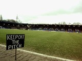 A general view of Gigg Lane, the home of Bury before their Nationwide Division Two match against Bristol City on January 29, 2000