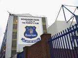 General View prior to the Barclays Premier League match between Everton and Manchester City at Goodison Park on May 3, 2014