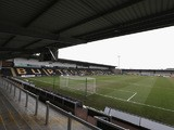 A general view of the Pirelli Stadium during the UEFA European Under 17 Championship match between England and Slovenia at Pirelli Stadium on March 28, 2013