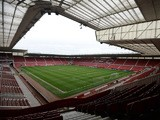 A general view the stadium ahead of the U21 International friendly match between U21 England and U21 Germany at the Riverside Stadium on March 30, 2015
