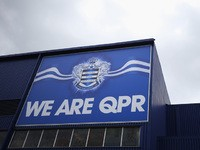 A general view prior to the Barclays Premier League match between Queens Park Rangers and West Ham United at Loftus Road on April 25, 2015