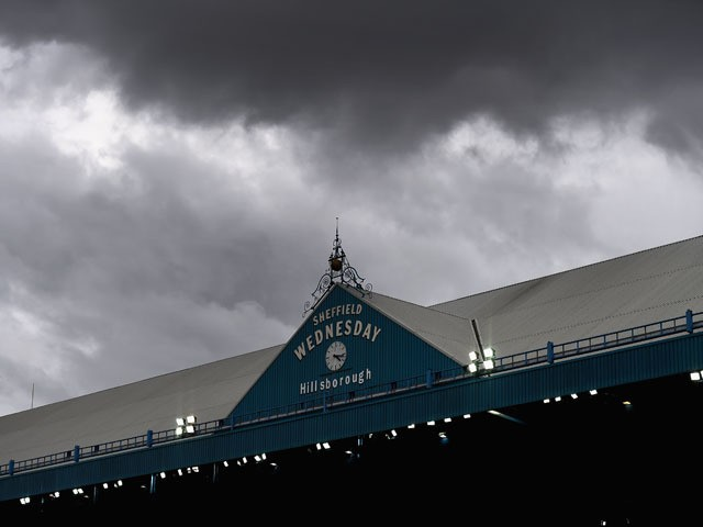 A general view during the Sky Bet Championship match between Sheffield Wednesday and Watford at Hillsborough Stadium on October 18, 2014