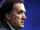 22 Jul 1998: Profile of Rangers Manager Dick Advocaat during the UEFA Cup qualifying match against Shelbourne at Prenton Park in Tranmere, England