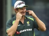 Shane Watson during an Australia nets session on July 15, 2015