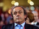President of UEFA Michel Platini attends the Preliminary Draw of the 2018 FIFA World Cup in Russia at The Konstantin Palace on July 25, 2015