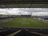 General view of Starks park ahead of the Pre Season Friendly