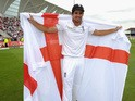 England captain Alastair Cook celebrates after winning the 4th Investec Ashes Test match between England and Australia at Trent Bridge on August 8, 2015