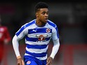 Dominic Samuel of Reading in action during a Pre Season Friendly between Crawley Town and Reading at Checkatrade.com Stadium on July 27, 2015 in Crawley, West Sussex.