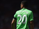 Sergio Romero of Manchester United during the Barclays Premier League match between Manchester United and Tottenham Hotspur at Old Trafford, Manchester.