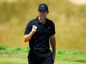 Rory McIlroy on day three of the PGA on August 15, 2015