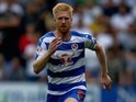 Reading's Paul McShane in action against Leeds on August 16, 2015