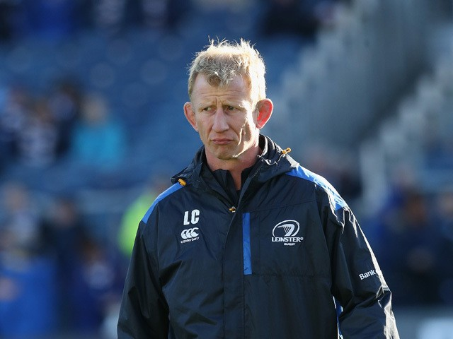 Leo Cullen, the Leinster forwards coach looks on during the European Rugby Champions Cup match between Leinster and Wasps at the RDS Arena on October 19, 2014