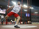 Poland's Piotr Malachowski competes in the final of the men's discus throw athletics event at the 2015 IAAF World Championships at the 'Bird's Nest' National Stadium in Beijing on August 29, 2015