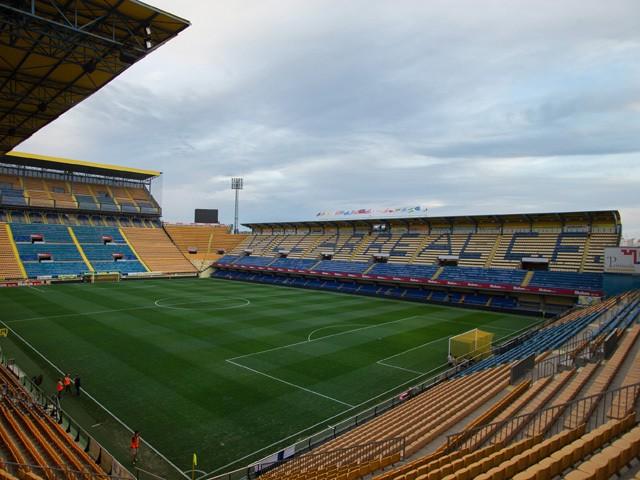 Overall view of Villarreal's El Madrigal stadium before the La Liga match between Villarreal and Real Madrid on September 14, 2013