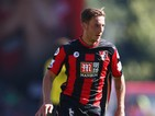 Dan Gosling of AFC Bournemouth during the Barclays Premier League match between Bournemouth and Aston Villa at the Vitality Stadium on August 8, 2015 in Bournemouth, England