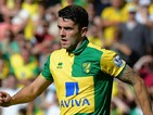 Robbie Brady of Norwich City during the Barclays Premier League match between Norwich City and Stoke City at Carrow Road on August 22, 2015 in Norwich, United Kingdom.