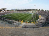 A general view of stadium during the Serie A match between Atalanta BC and Hellas Verona FC at Stadio Atleti Azzurri d'Italia on August 31, 2014