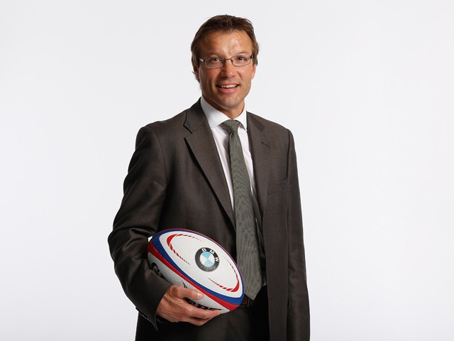 RFU Professional Rugby Director, Rob Andrew during the launch of the BMW Performance Academy at Wokefield Park on September 25, 2012