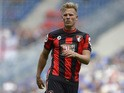 Matt Ritchie of Bournemouth reacts during the friendly match between 1899 Hoffenheim and AFC Bournemouth at Wirsol Rhein-Neckar-Arena on August 1, 2015