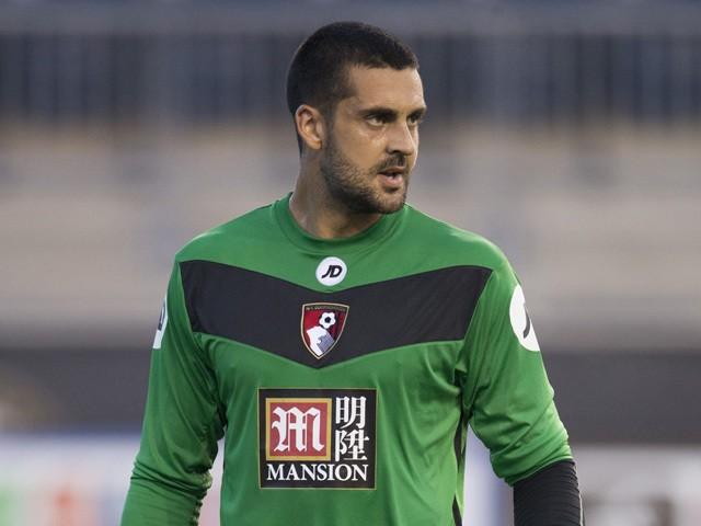 Adam Federici #23 of AFC Bournemouth plays in the friendly match against the Philadelphia Union on July 14, 2015