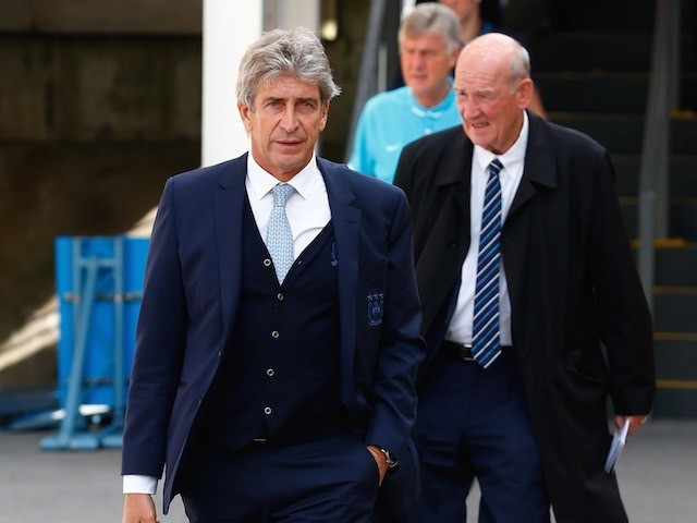 Manuel Pellegrini rocks up to Selhurst Park for Man City's game with Crystal Palace on September 12, 2015