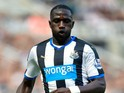 Moussa Sissoko of Newcastle United in action during the Barclays Premier League match between Newcastle United and Arsenal at St James' Park on August 29, 2015 in Newcastle upon Tyne, United Kingdom.