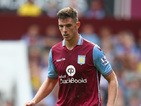 Ciaran Clark of Aston Villa in action during the Barclays Premier League match between Aston Villa and Sunderland at Villa Park on August 29, 2015