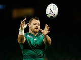 Ireland player Cian Healy in action during Ireland Captains Run ahead of their opening 2015 Rugby World Cup match against Canada at Millennium Stadium on September 18, 2015