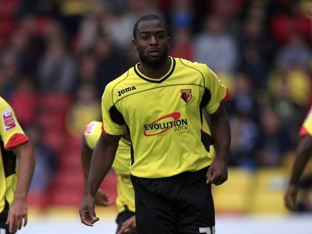 Nathan Ellington in action for Watford on October 3, 2009