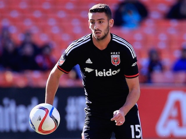 Steve Birnbaum in action for DC United in March 2015