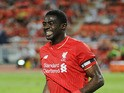 Kolo Toure of Liverpool in action during the international friendly match between Thai Premier League All Stars and Liverpool FC at Rajamangala Stadium on July 14, 2015