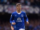 John Stones of Everton in action during the Barclays Premier League match between Everton and Chelsea at Goodison Park on September 12, 2015