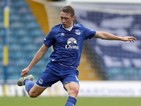 Matthew Pennington of Everton in action during the Pre Season Friendly match between Leeds United and Everton at Elland Road on August 1, 2015 in Leeds, England.