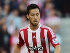 Maya Yoshida of Southampton in action during the Barclays Premier League match between Southampton and Manchester United at St Mary's Stadium on September 20, 2015 in Southampton, United Kingdom.