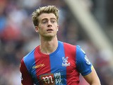 Patrick Bamford of Crystal Palace in action during the Barclays Premier League match between Crystal Palace and Arsenal on August 16, 2015